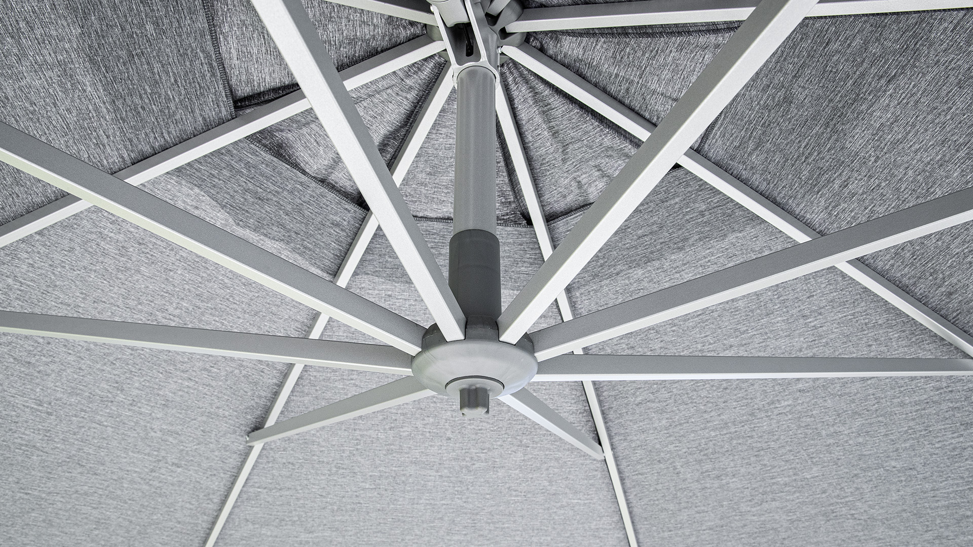 EASY TURN Ampelschirm 300 x 300 cm