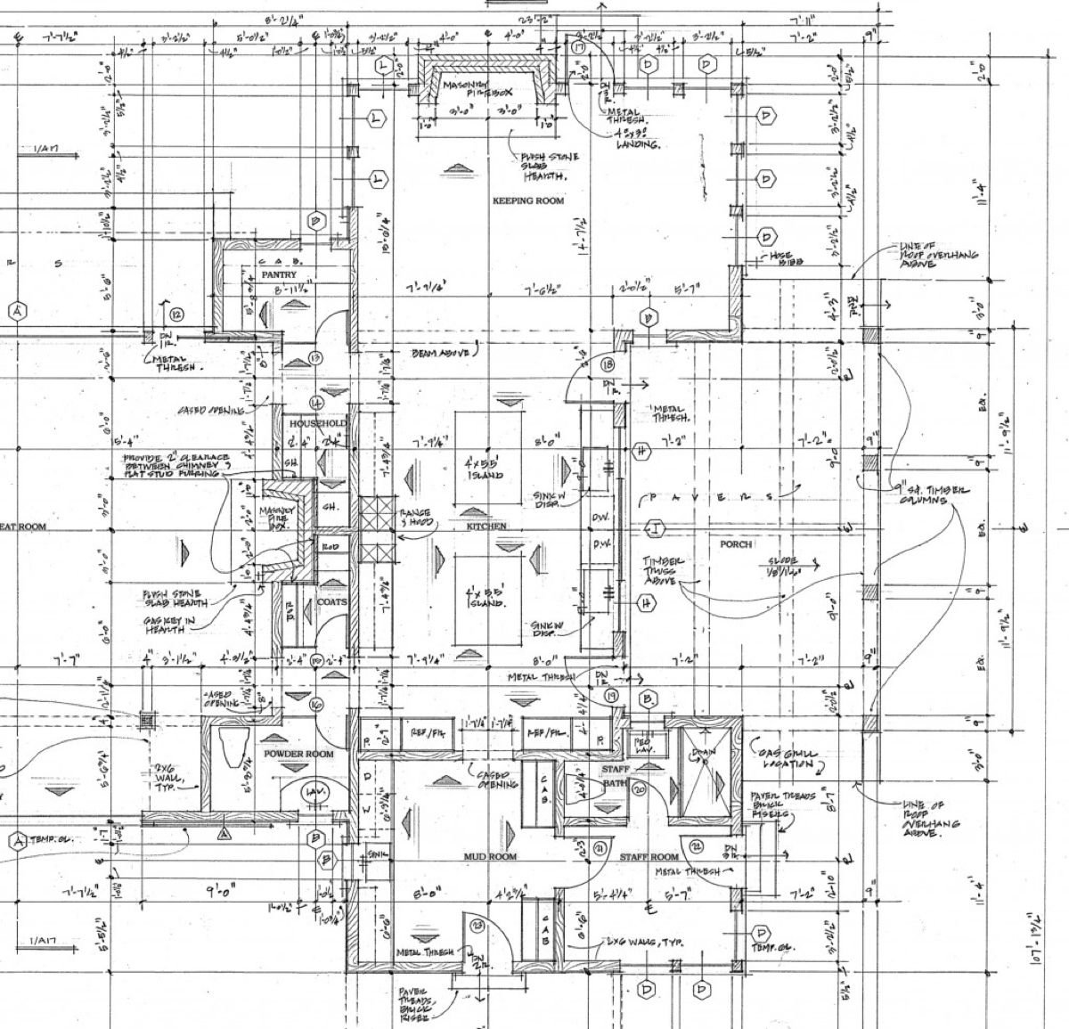 Architectural drawings are too complicated for employees