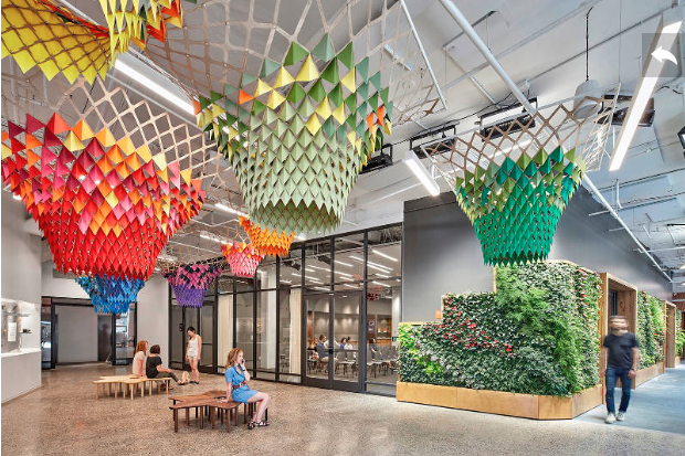 Etsy HQ Biophilic Office Design