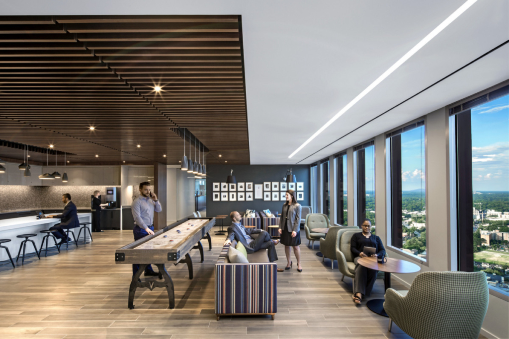Space variety lets your employees work in a way that best serves their comfort and needs and improves wellness in the workplace