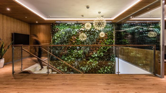 Keppel Land Biophilic Office Design