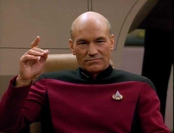 Captain Picard makes it so