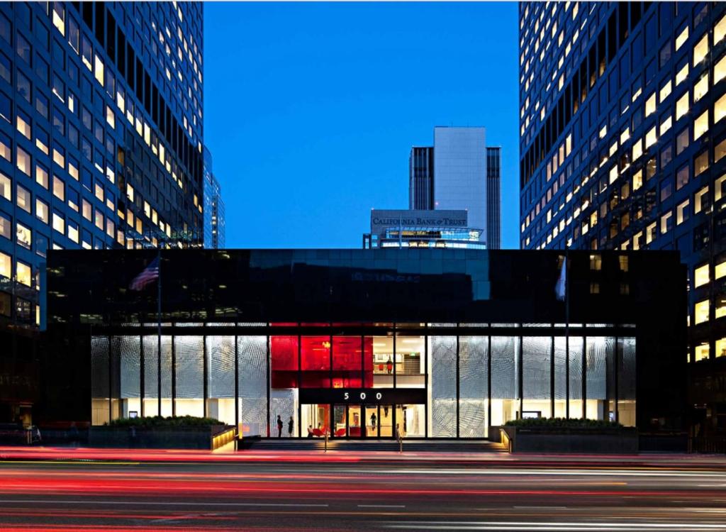 Gensler LA office future of work