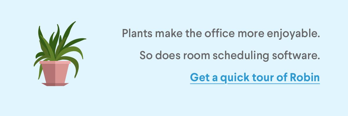 Office Plants Demo CTA