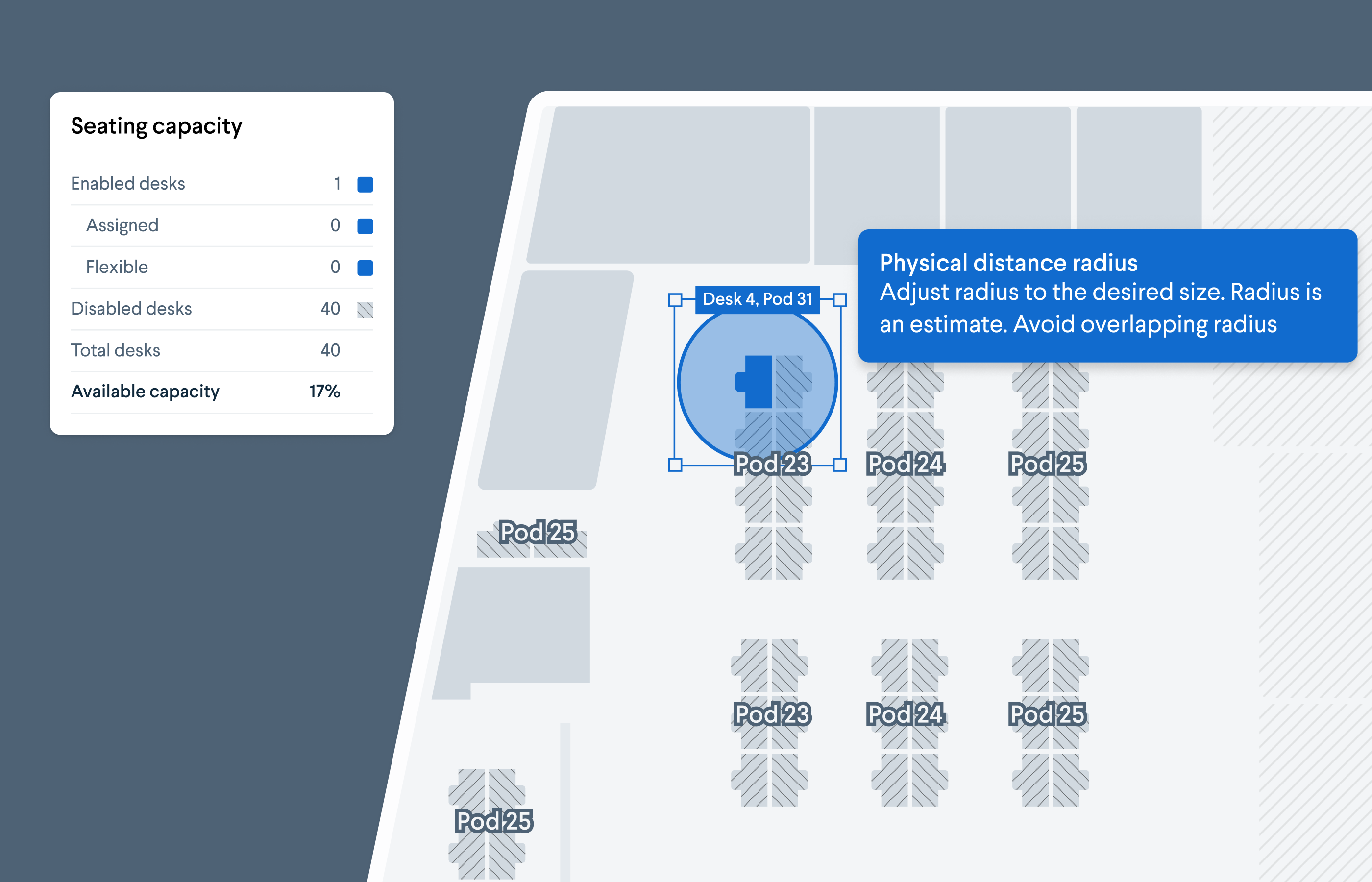 How To Plan Your Office Seating Chart Using Physical Distancing