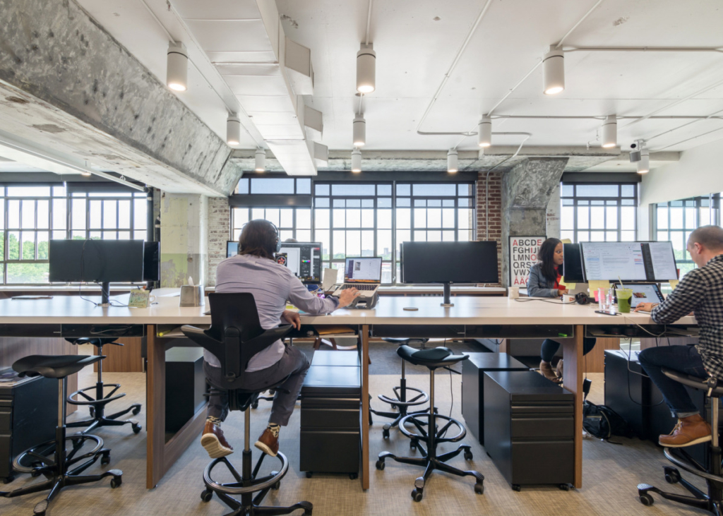 Millennials, or Generation Y, want flexibility at work. Flexible seating allows them to choose when and where they work