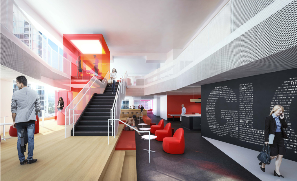 GLG's activity-based working environment office