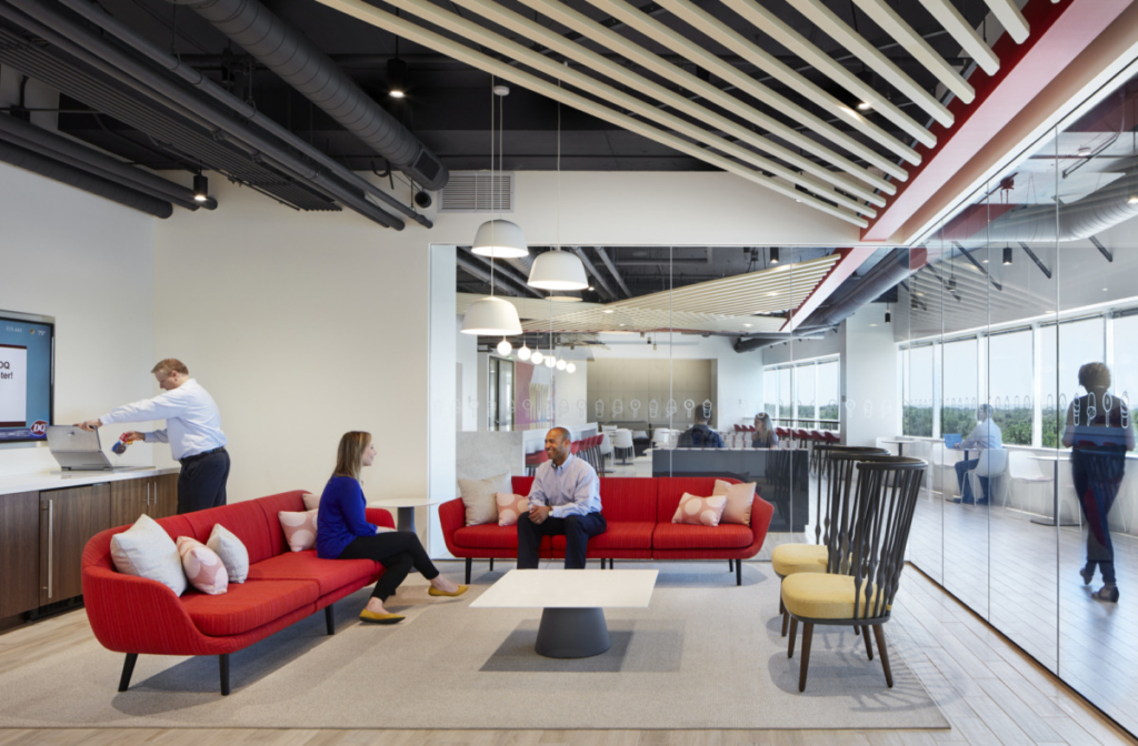 Comfortable office space is important to Generation X, and several other generations in the workplace