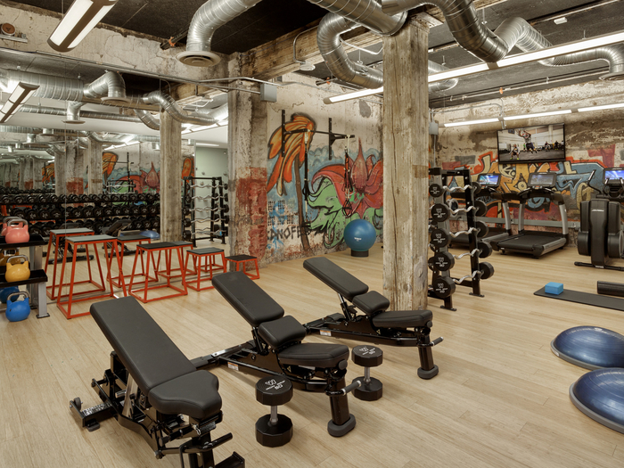 Weebly office gym future of work