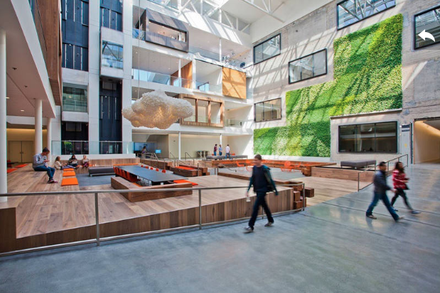Airbnb Offices via Gensler and Freshome