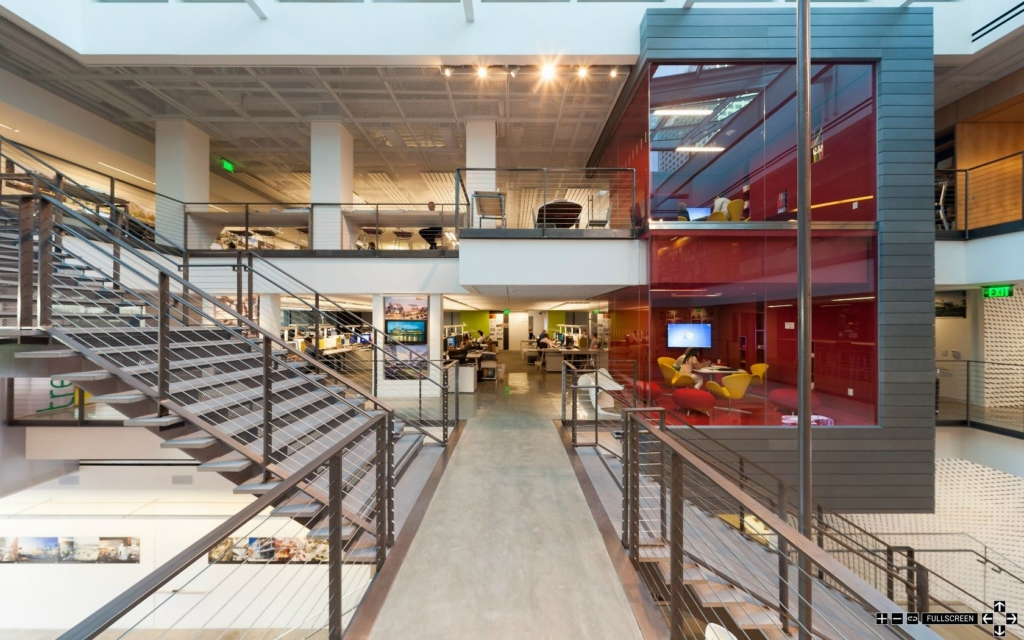 Gensler's LA office future of work