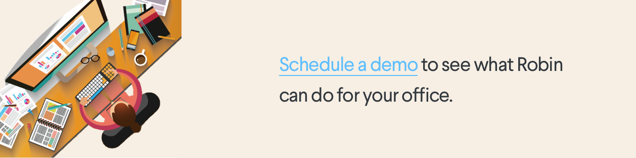 Schedule a demo state of the office