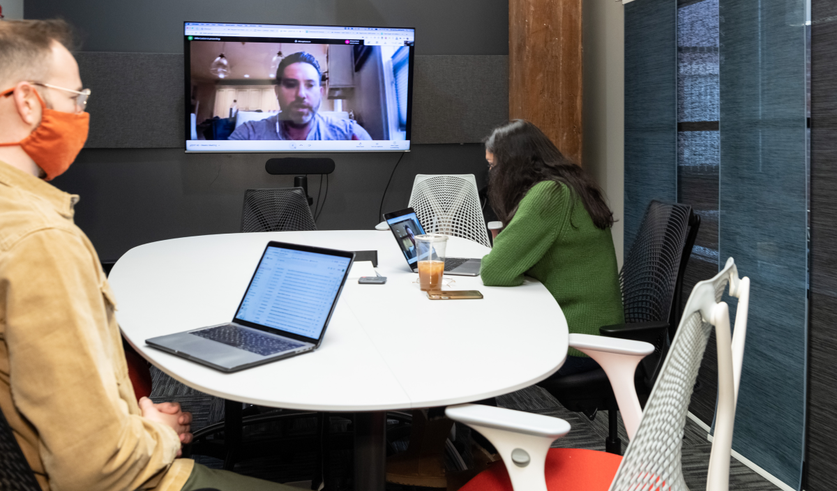 video call hybrid work in 2021