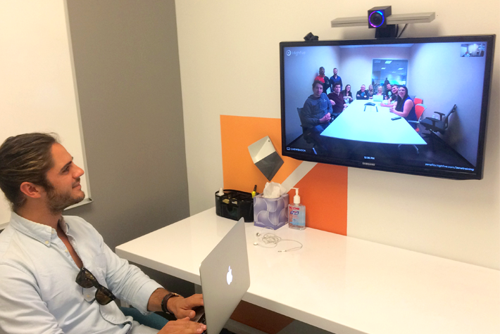 Zenefits technology teleconferencing