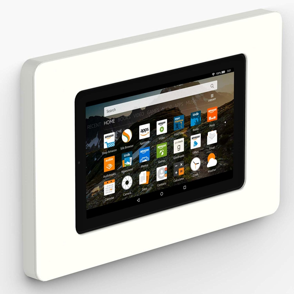 Amazon Fire 7 room display for conference room scheduling tablets