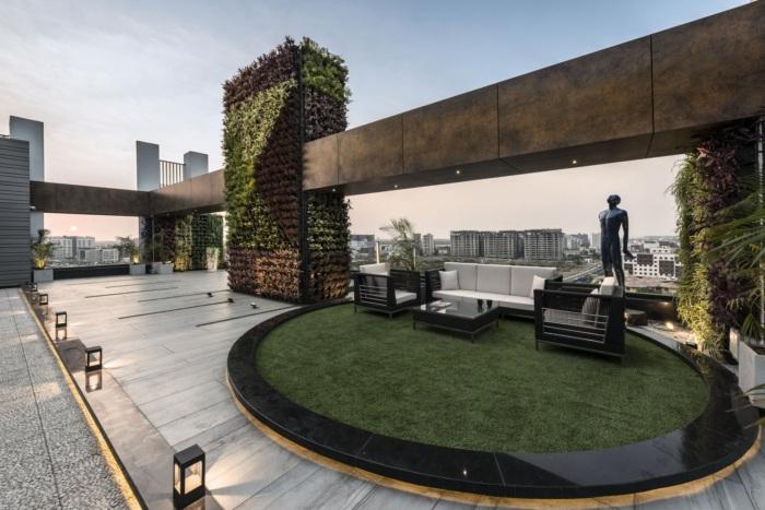 Oriana Facade Biophilic Office Design