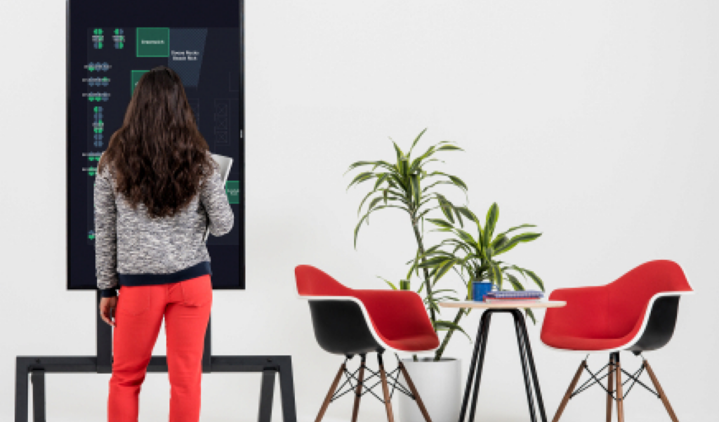 interactive meeting room booking system