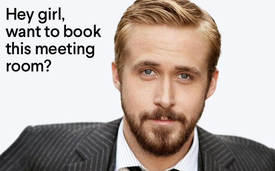 Funny conference room names Ryan Gosling
