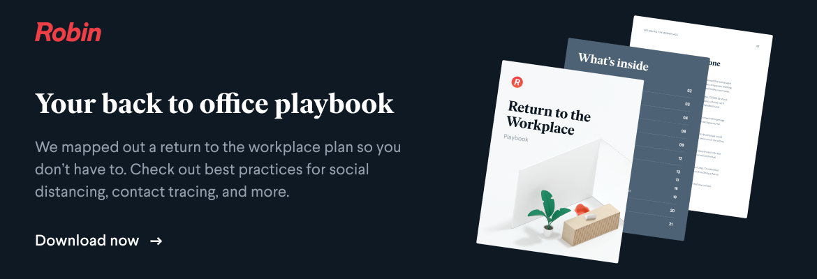return to office playbook template for 2021