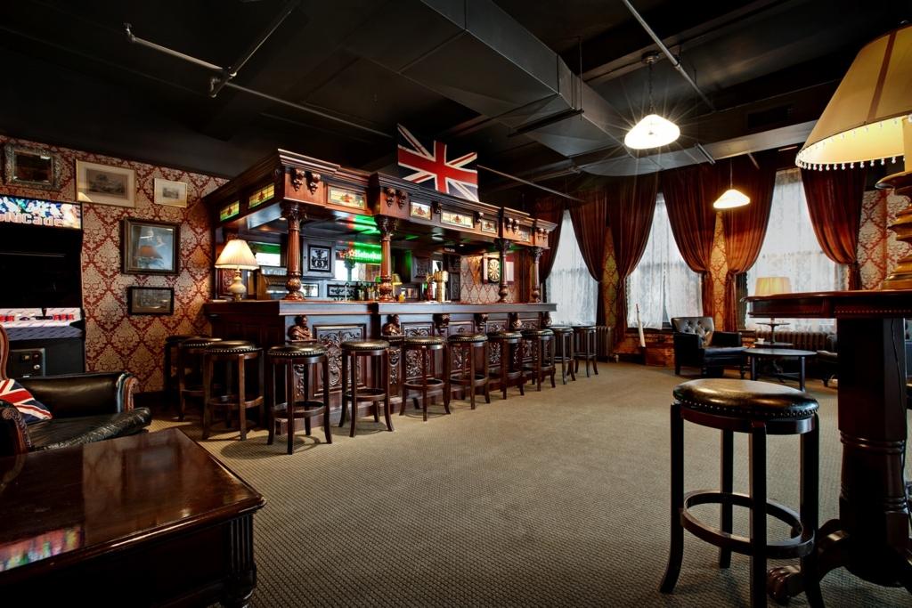 Ceros NYC office pub social area future of work