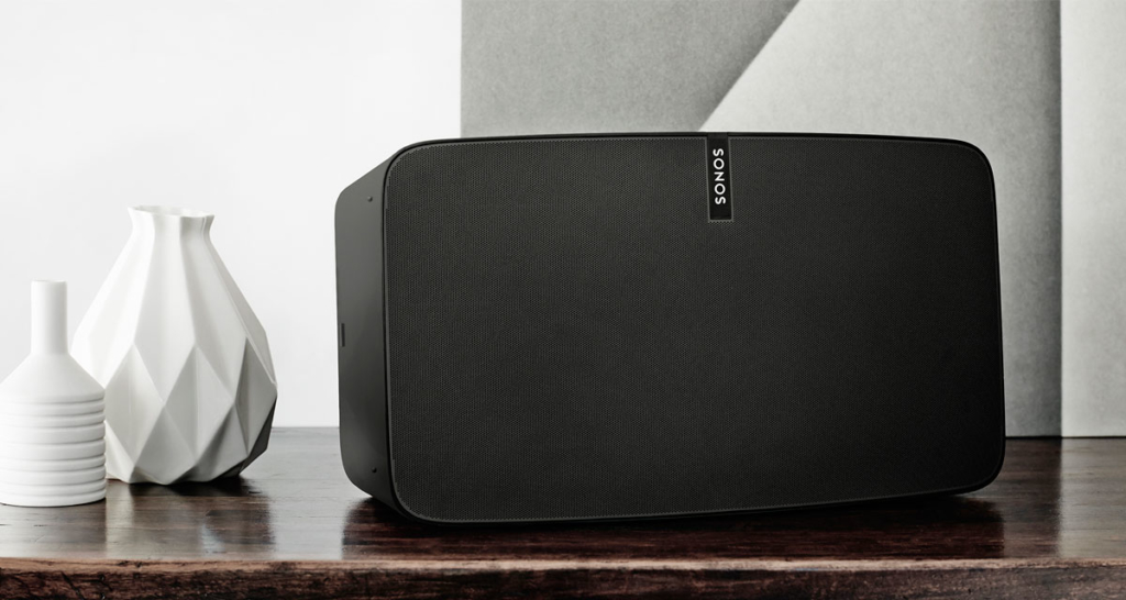 Sonos speakers can be used for white, pink and brown noise