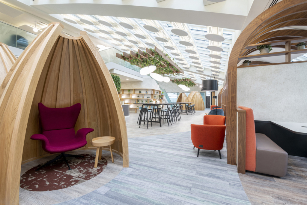 LEO's London office designed to promote health and wellness in the workplace