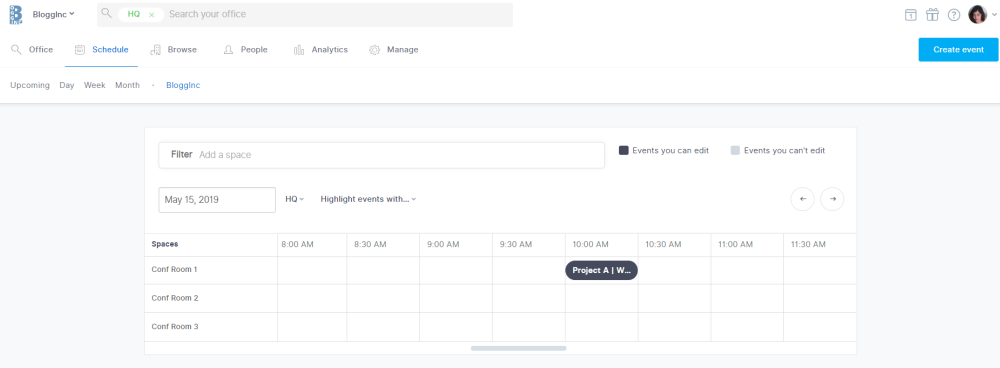 using the Robin calendar under the schedule tab in the dashboard, you can find a recurring meeting