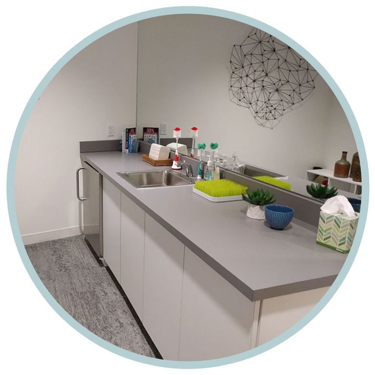 Google mother's room amenity future of work