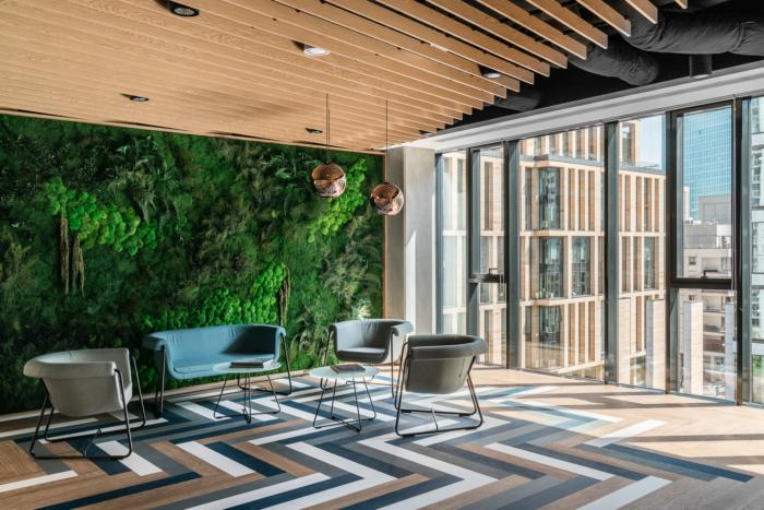 Euronet Biophilic Office Design