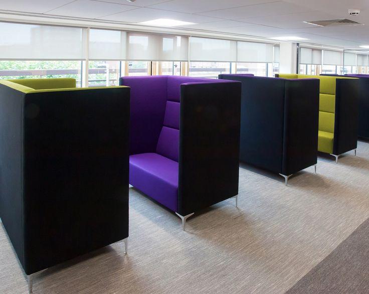 Office pod space efficiency