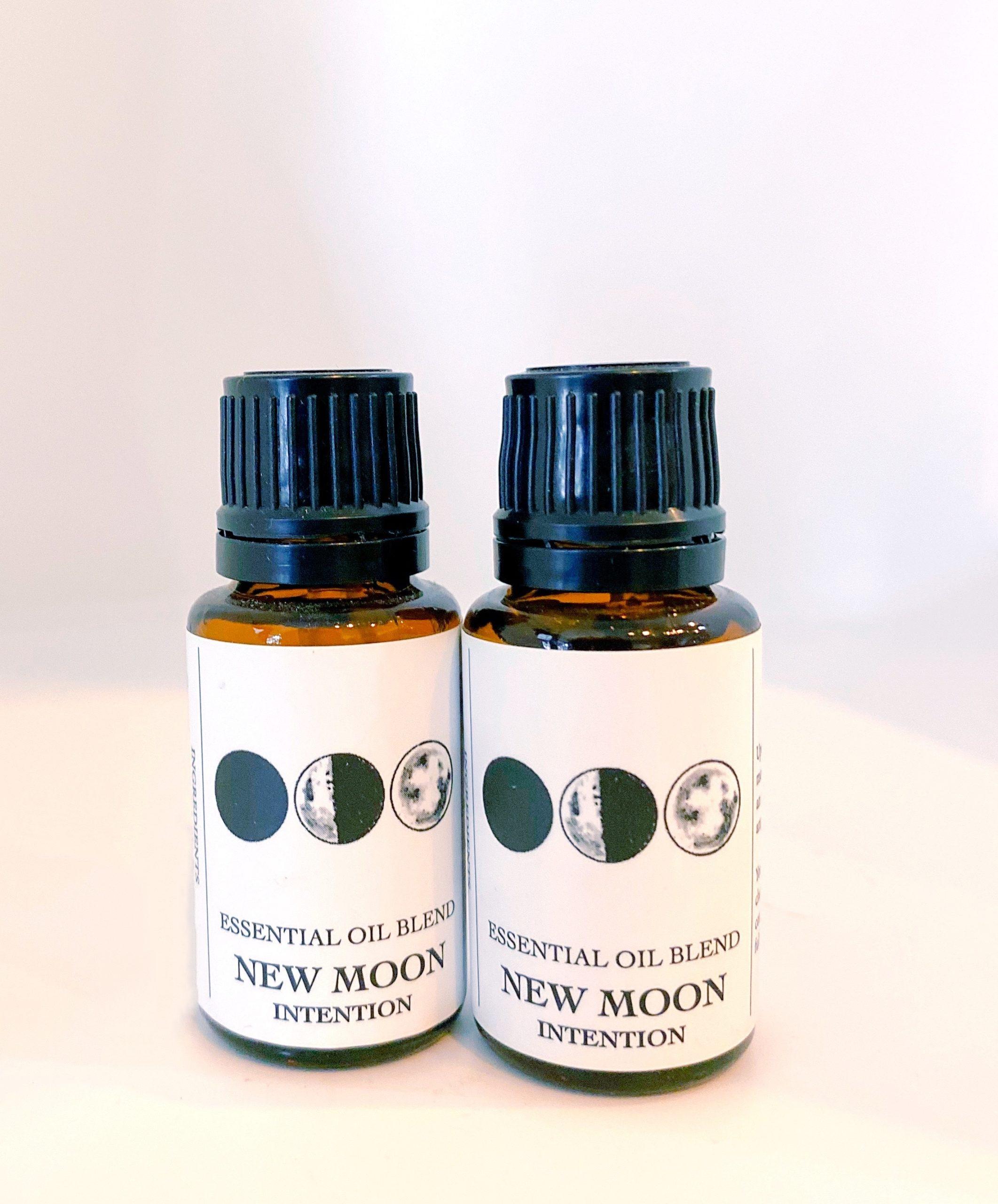 New Moon Oil | Rosemary, Orange, Tea Tree, Peppermint