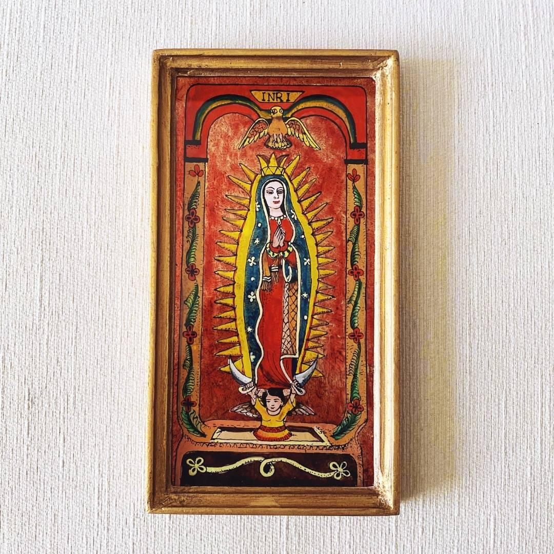 Virgen de Guadalupe Wall Art | Red