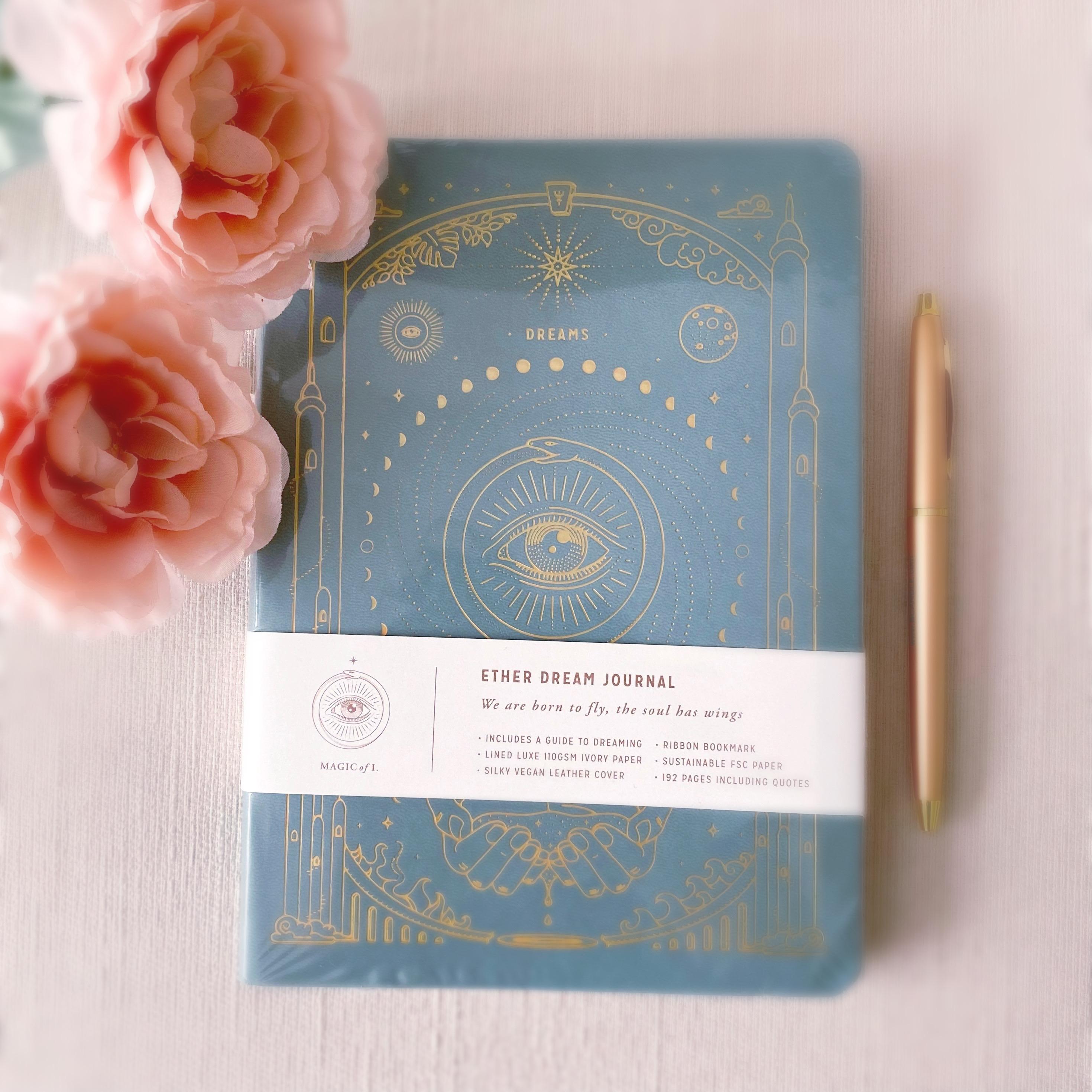 'Magic of I' Dream Journal | Green