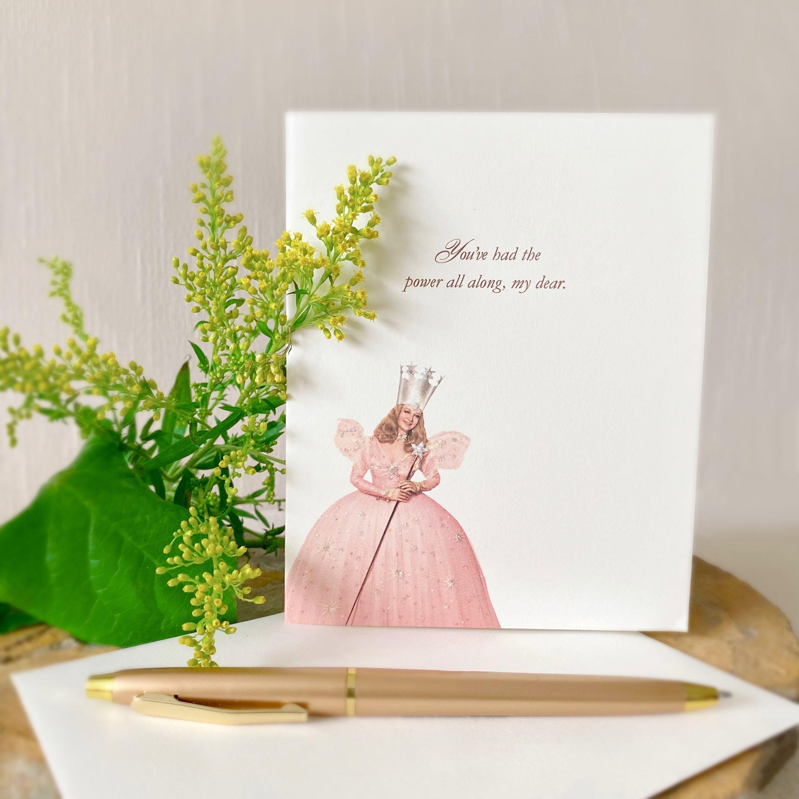Glinda Greeting Card