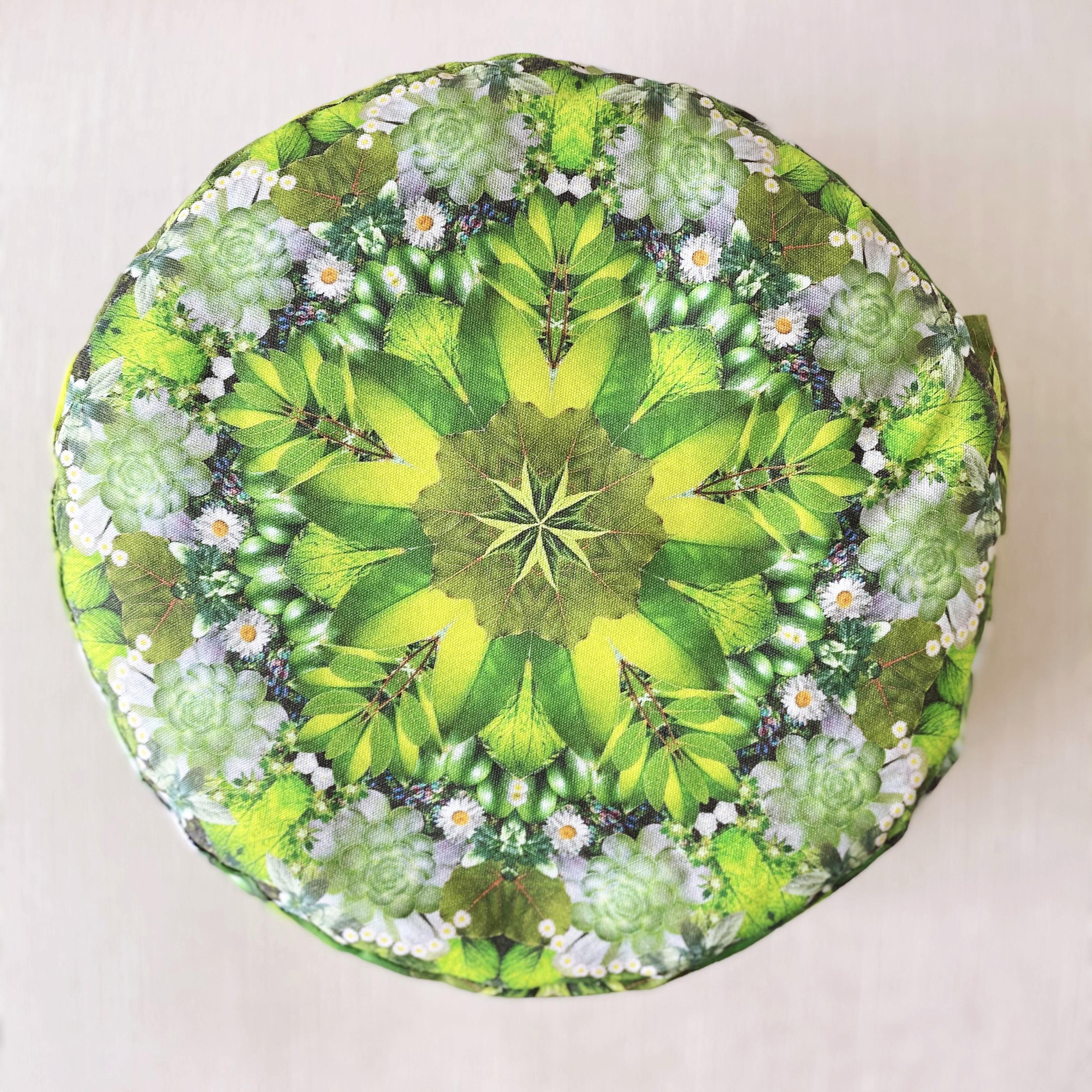 Energy Green Prana Meditation Cushion