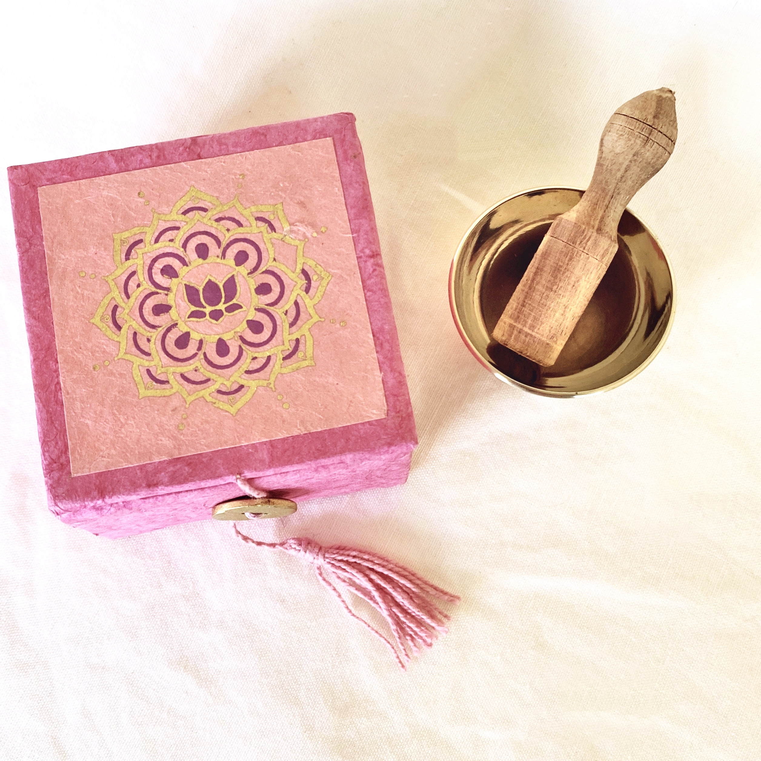 Mini Singing Bowl | Pink