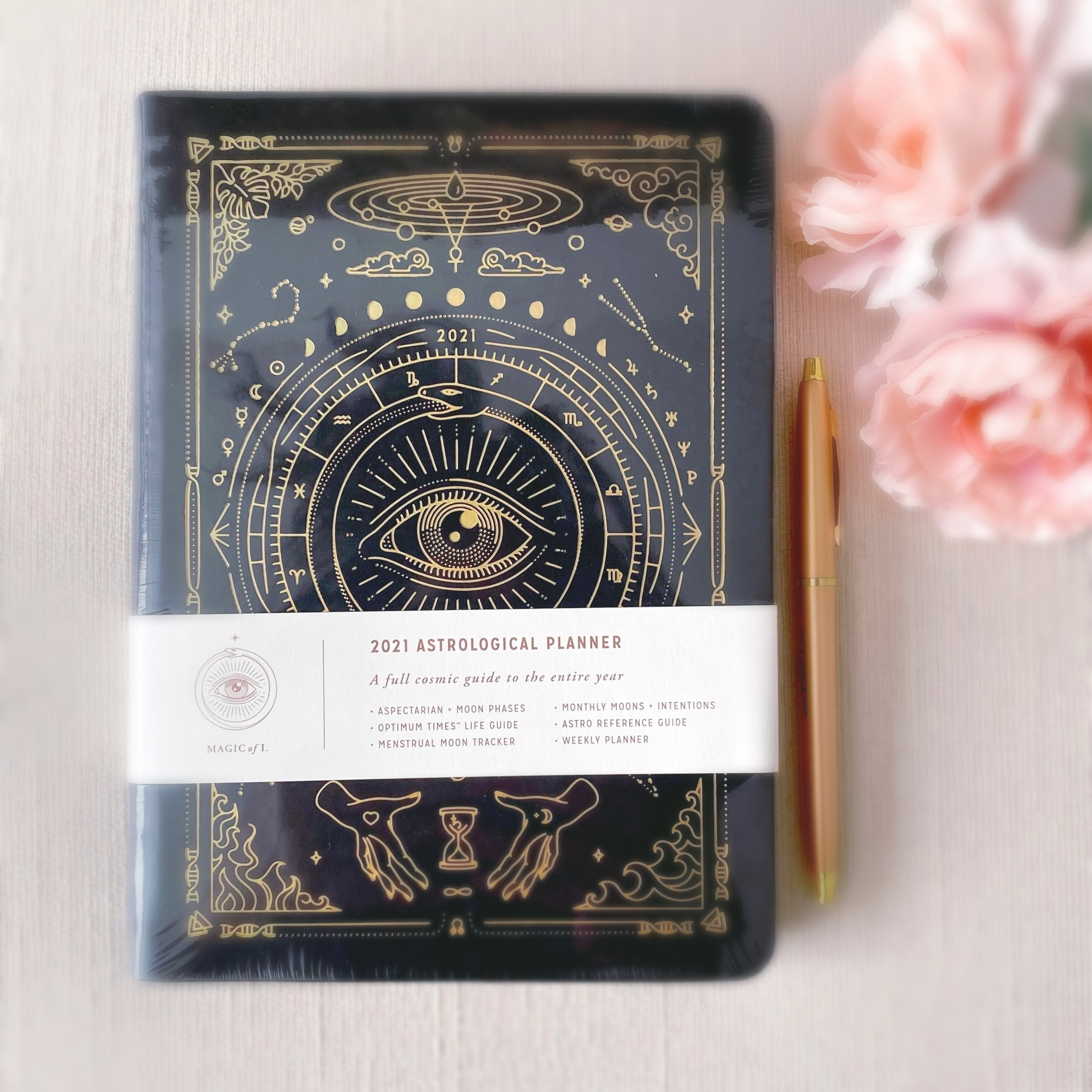 2021 Astrological Planner | Black