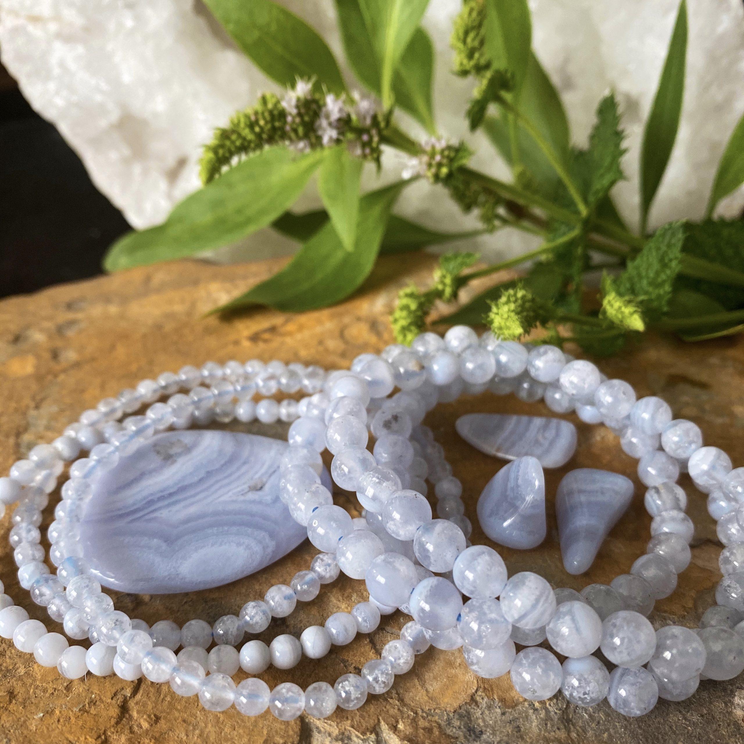 Blue Lace Agate | Communication