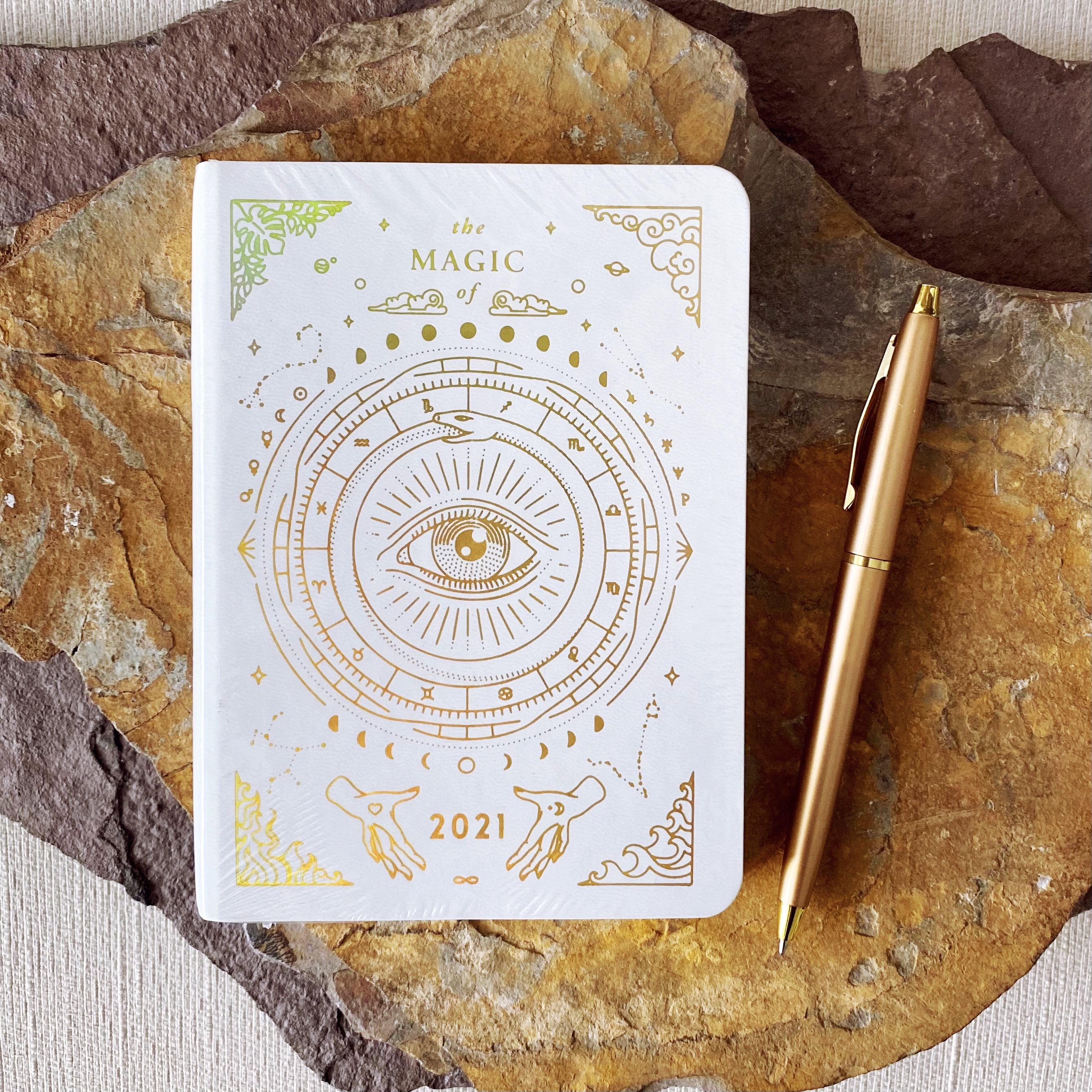 2021 Astrological Pocket Planner | White