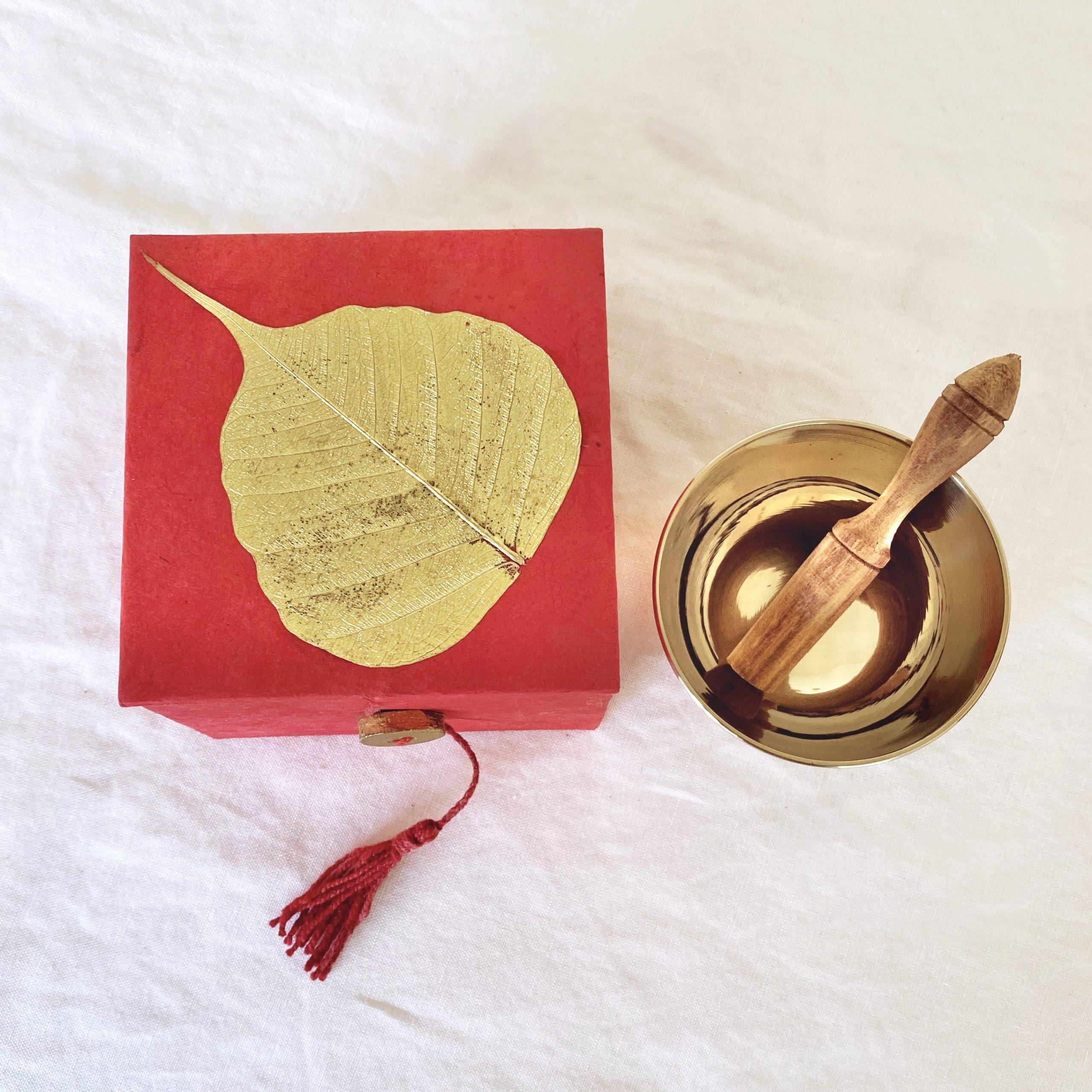 Mini Singing Bowls | Red