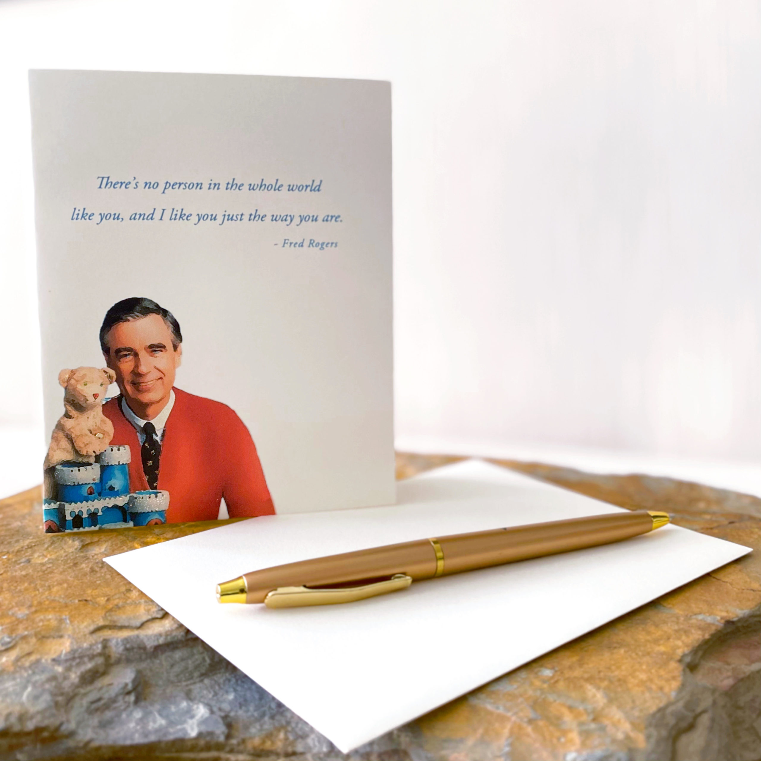 Mr. Rogers Greeting Card