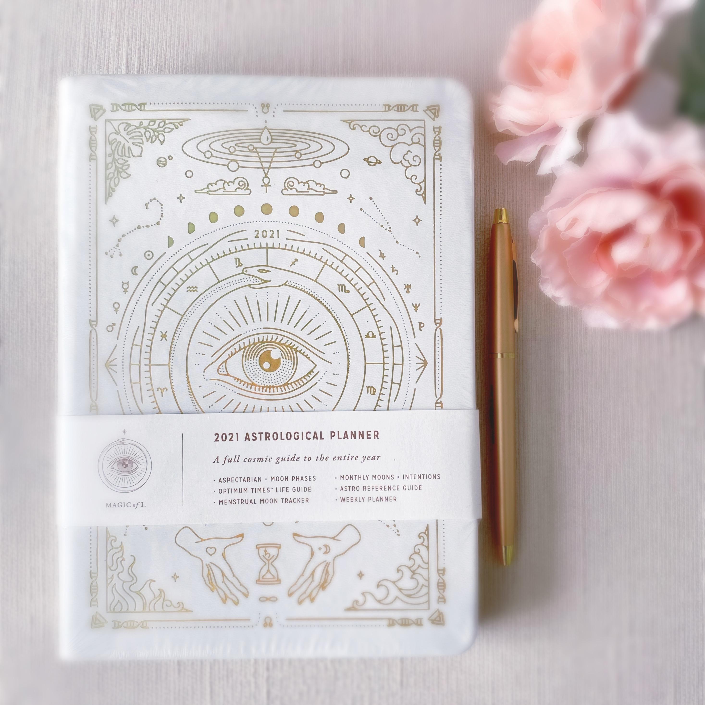 2021 Astrological Planner | White