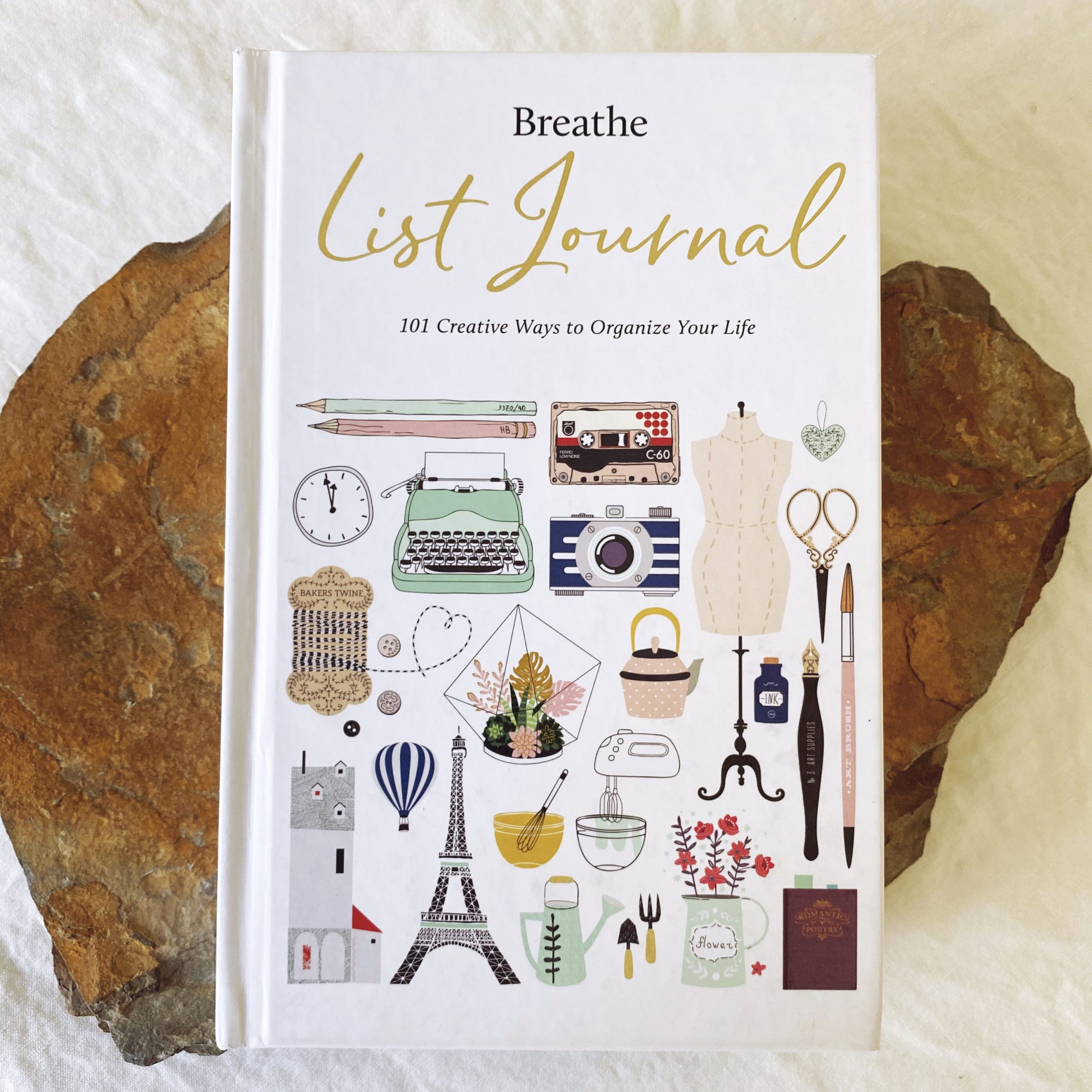 """Breathe"" List Journal"