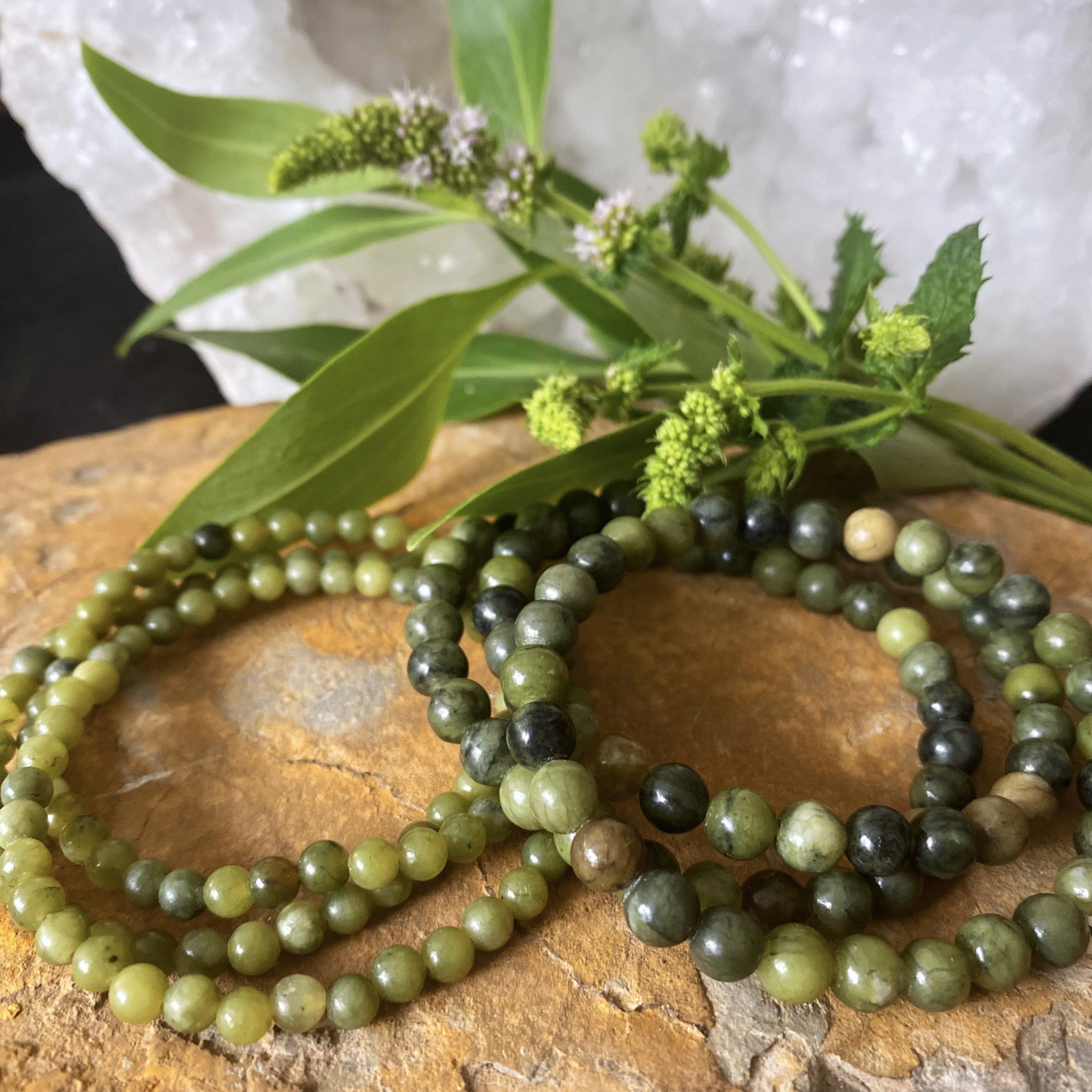 Green Lace Agate | Wholeness