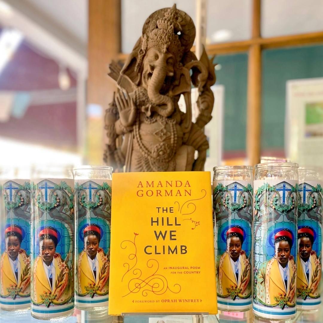 amanda gorman the hill we climb book and candle | paradise found santa barabara