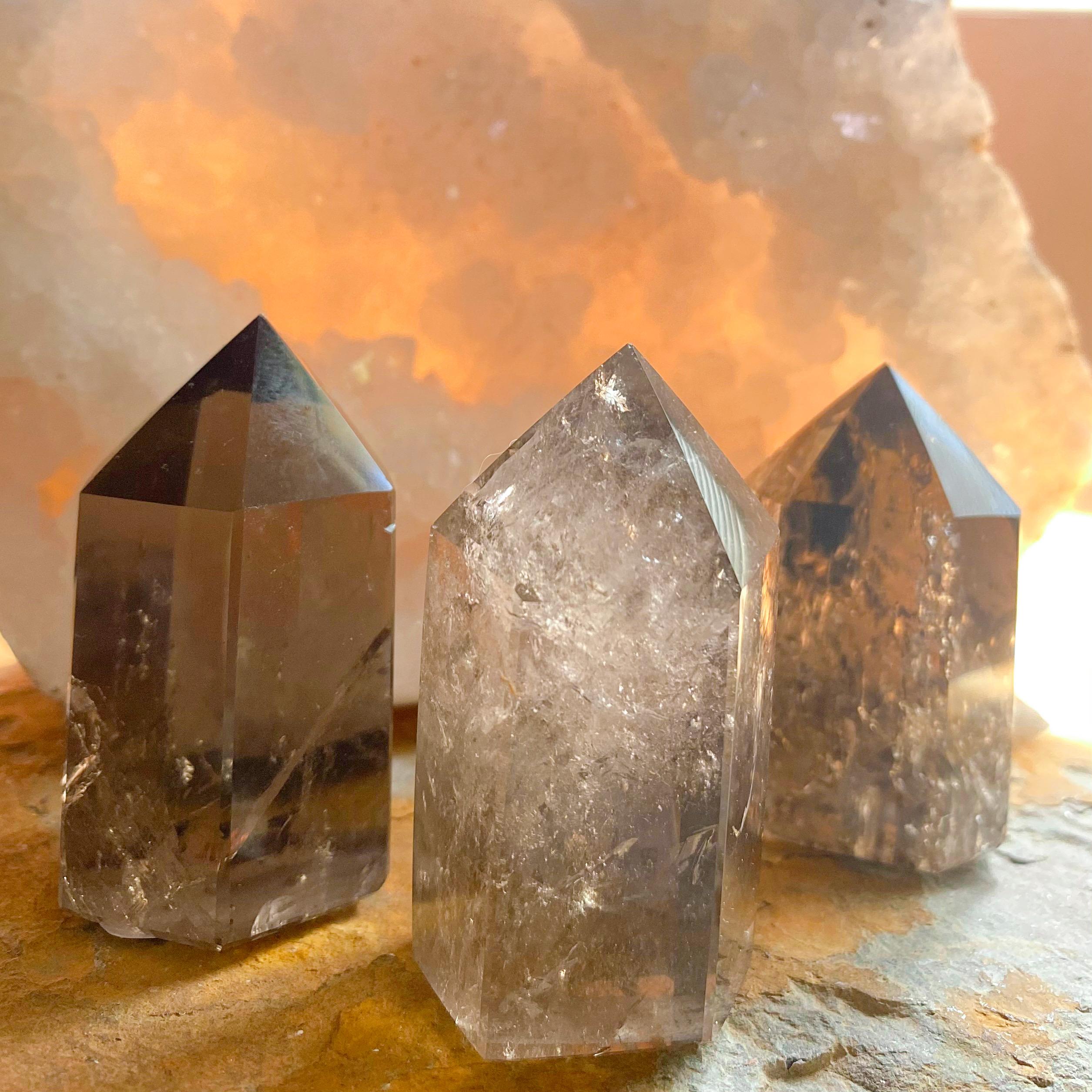 smoky quartz generator crystals absorb negative energy | Paradise Found Santa Barbara