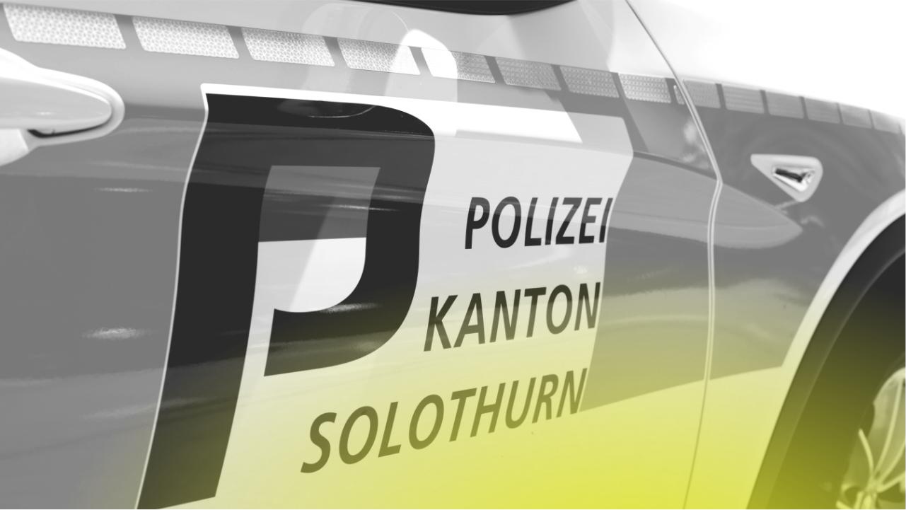 Polizeiauto Kantonspolizei Solothurn