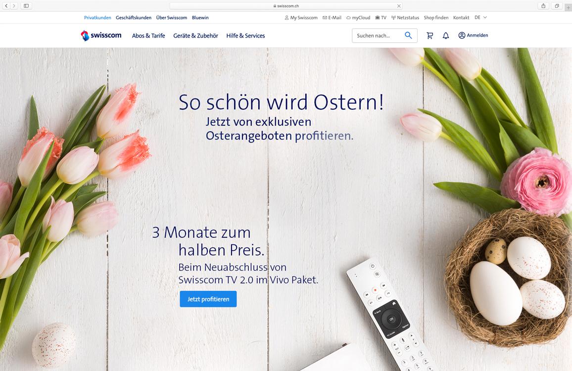 Displaykampagne Ostern