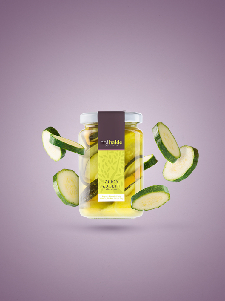 Produktfoto Curry Zucchetti