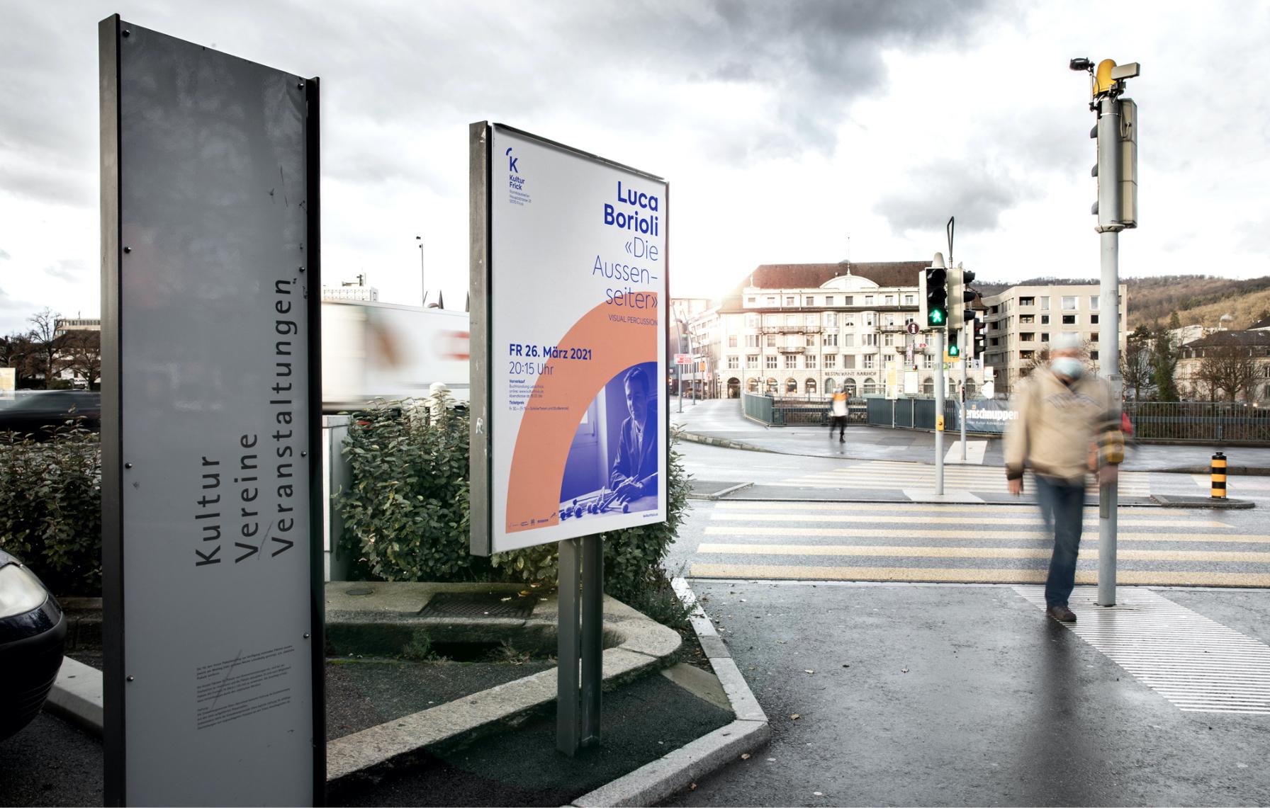 Plakat von Kultur Frick